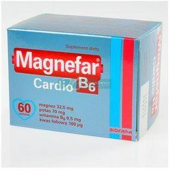 Magnefar b6 cardio x 60 tabl
