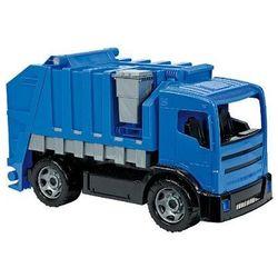 Śmieciarka Lena niebieska karton