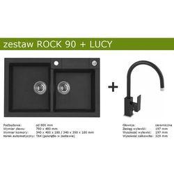 Zestaw ALVEUS ROCK 90 + LUCY (kolor CZARNY)