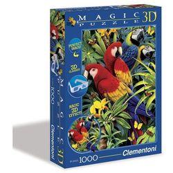 Puzzle Magic 3D Papugi 1000
