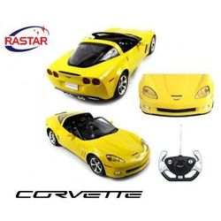 Duży Zdalnie Sterowany Chevrolet Corvette C6 (1:12) + Pilot.