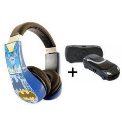 Słuchawki Dla Dzieci Batman + Odtwarzacz MP3