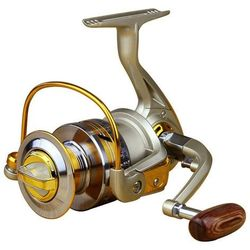 Ratio 5.5:1 Aluminum Spool Spinning Reel 10BB EF3000 Series Fishing Reels BHU2