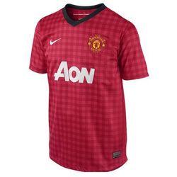 RMANU66j: Manchester United - koszulka junior Nike