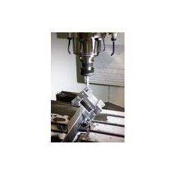 Foto naklejka samoprzylepna 100 x 100 cm - Tokarka, frezarka CNC
