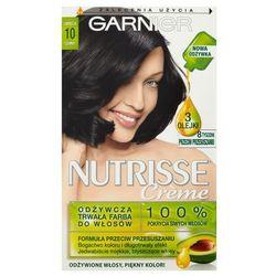 Nutrisse Creme farba do włosów 10 Czarny