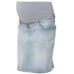Esprit Maternity Spódnica jeansowa lightwash