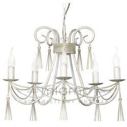 Żyrandol LAMPA wisząca TWIST 4984 Nowodvorski świecznikowy ZWIS metalowy maria teresa biały