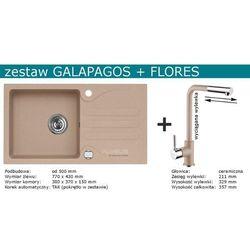 Zestaw ALVEUS GALAPAGOS + FLORES (kolor CZARNY)