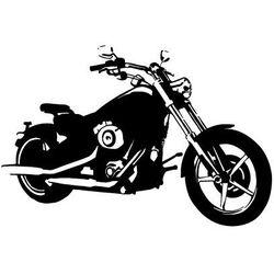 Naklejka Harley Davidson