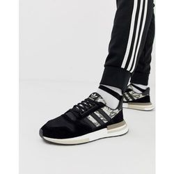 adidas Originals ZX500 RM snake Trainers in black Black