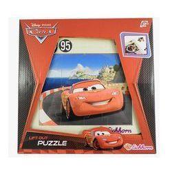 Auta 2 Puzzle drewniane Zygzak