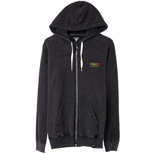 bluza FALLEN - Signature Hoodies Roots Hoodie Rasta Enzymatic Wash (RASTA ENZYMATIC WASH) rozmiar: M
