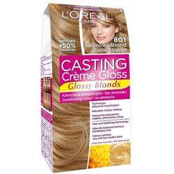 LOREAL Paris Casting Creme Gloss 801 Satynowy blond Farba do włosów