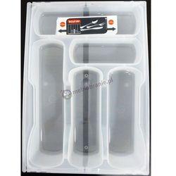 Wkład do szuflady na sztućce CURVER transparentny