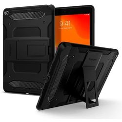 SPIGEN TOUGH ARMOR TECH Etui pancerne do iPad 10.2 2019 czarne